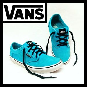 Vans Bright Blue Low Top Classic Sneakers